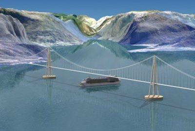 Utvikler unik hengebru på flytende fundament over Bjørnafjorden